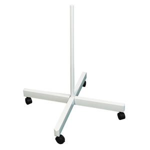 Rolling Floor Stand for Magnifying Lamp, Medium Duty (4 Spokes with Caster Wheels)