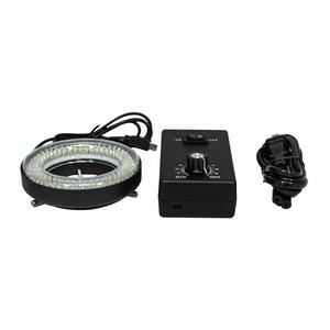144 LED Microscope Ring Light Diameter 61mm 6W with Adaptor Power Box