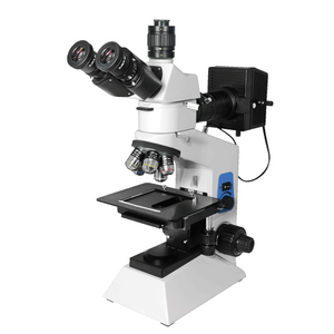 50X-1000X Metallurgical Microscope, Trinocular, Halogen Light, Bright Field
