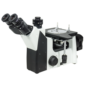 50X-1000X Inverted Metallurgical Microscope, Trinocular, Halogen Light