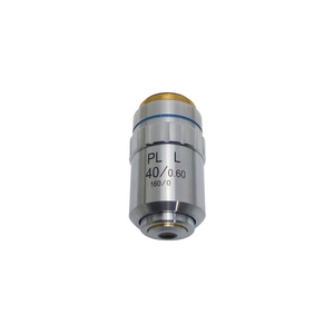 40X Long Working Distance Plan Achromatic Metallurgical Microscope Objective Lens Working Distance 3.7mm