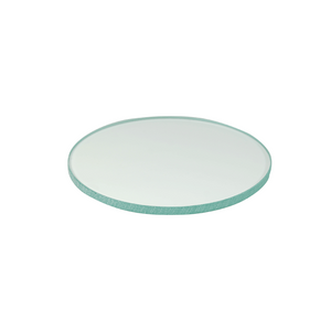 100mm Clear Glass Microscope Stage Plate (4 inch Diameter) 6mm Thick