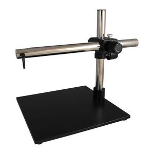 Microscope Boom Stand, Single Arm, Extra Heavy Duty Base