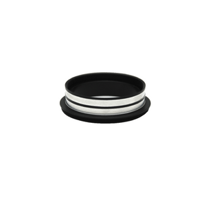 Metal Ring Light Adapter for Stereo Microscopes, 55mm Thread (with Cover Glass)
