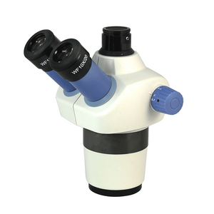 7-30X Zoom Stereo Microscope Head, Trinocular, Field of View 20mm Working Distance 97mm SZ04011131