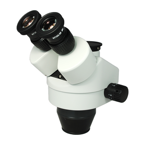 7-45X Zoom Stereo Microscope Head, Trinocular, Field of View 20mm Working Distance 100mm SZ05031132