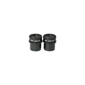 WF 15X Widefield Focusable Microscope Eyepieces, High Eyepoint, 30mm, FOV 16mm, Adjustable Diopter (Pair) SZ17013421
