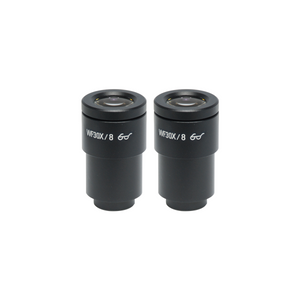 WF 30X Widefield Microscope Eyepieces, High Eyepoint, 30mm, FOV 9mm (Pair)