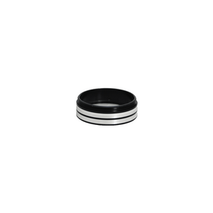 Metal Ring Light Adapter for Stereo Microscopes, 48mm Thread (with Cover Glass)