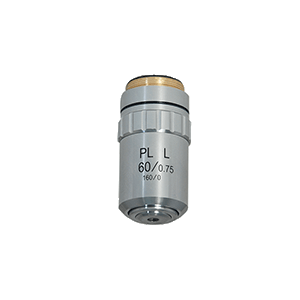 60X Long Working Distance Plan Achromatic Metallurgical Microscope Objective Lens Working Distance 1.34mm