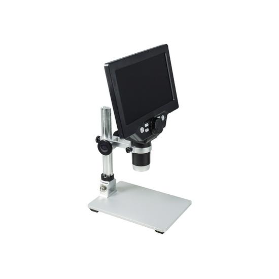 1-1200X LED Digital Microscope, HD 7 inch LCD Screen, 12 MP