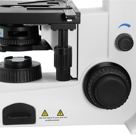 40X-1000X Biological Compound Laboratory Microscope, Binocular, Halogen Light, Infinity Plan