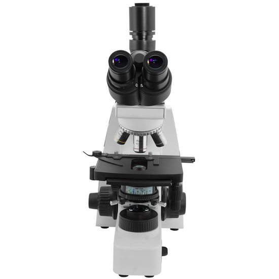 40X-1000X Biological Compound Laboratory Microscope, Trinocular, Halogen Light, Infinity Plan