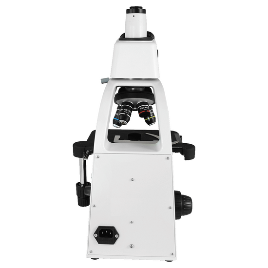 40X-1000X Biological Compound Laboratory Microscope, Trinocular, LED Light, 10X Adjustable Eyepieces