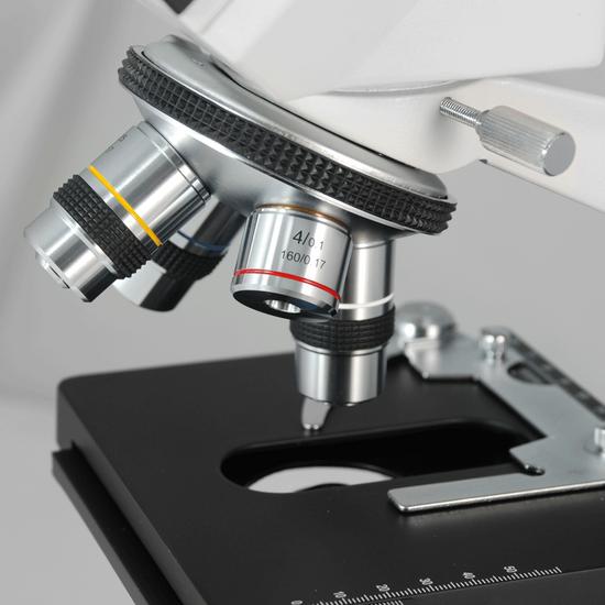 40X-1500X Biological Compound Laboratory Microscope, Binocular, Halogen Light, XY Stage