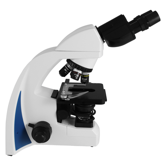 40X-1000X Biological Compound Laboratory Microscope, Binocular, LED Light, Adjustable Condenser