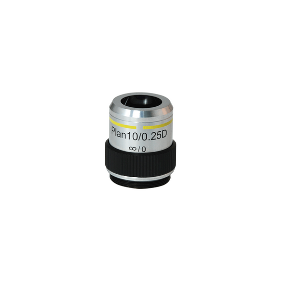 Long Working Distance Achromatic Negative Phase Contrast Microscope Objective Lens Working Distance 9.5mm PH03033332 BoliOptics 10X Infinity-Corrected Plan PH N
