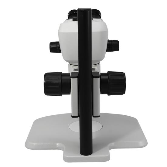 6.6X-51X WF Binocular Zoom Stereo Microscope Track Stand High Eyepoint Eyepiece