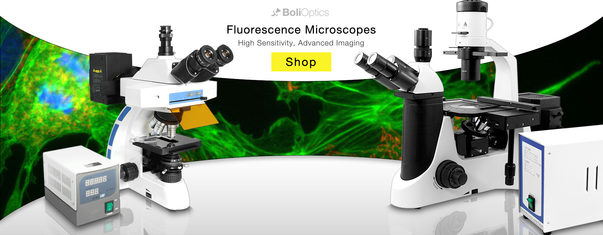 #1 Online Microscope and Accessory Store - Fluorescence Microscopes