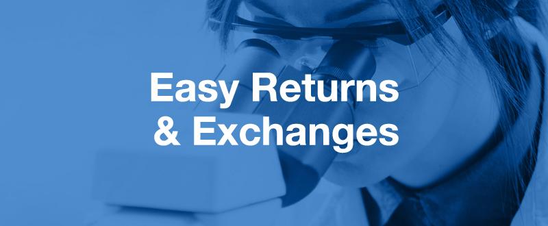 Microscope Returns & Exchanges