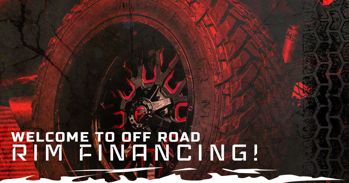 WELCOME TO OFF ROAD RIM FINANCING!