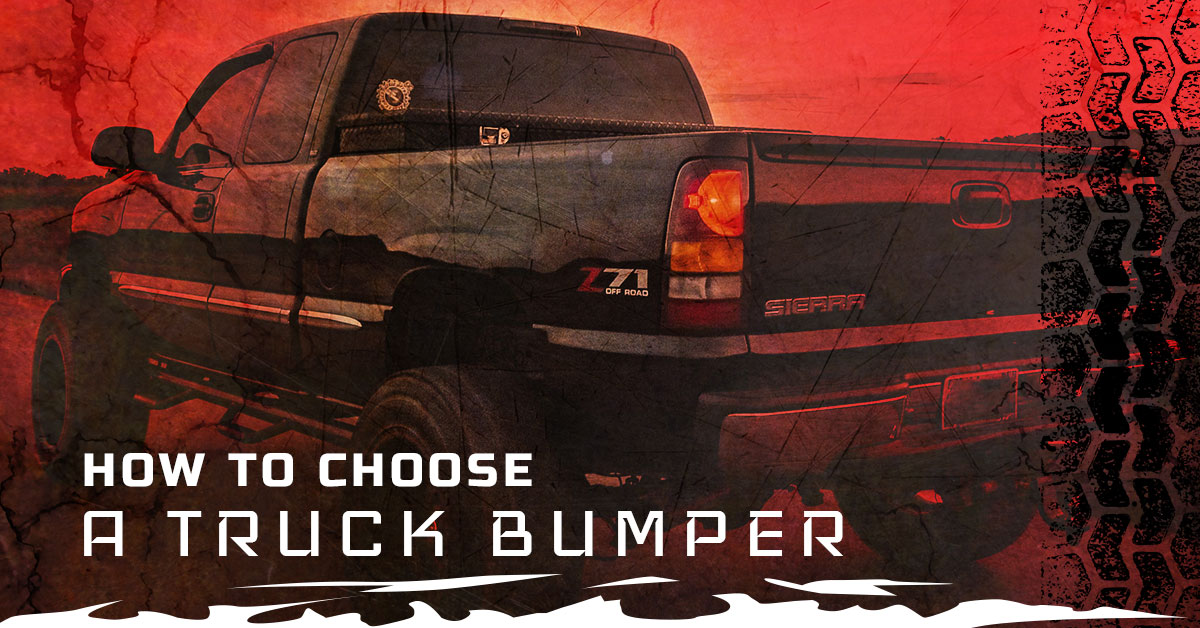 HOW TO CHOOSE A TRUCK BUMPER