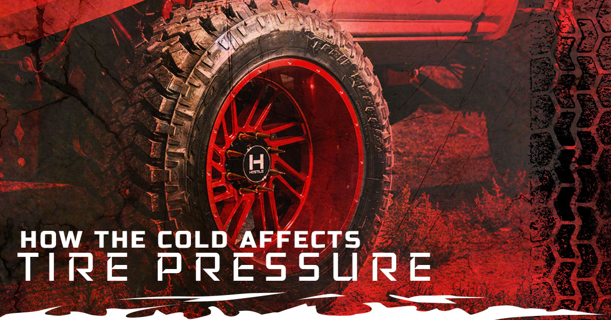 HOW THE COLD AFFECTS TIRE PRESSURE