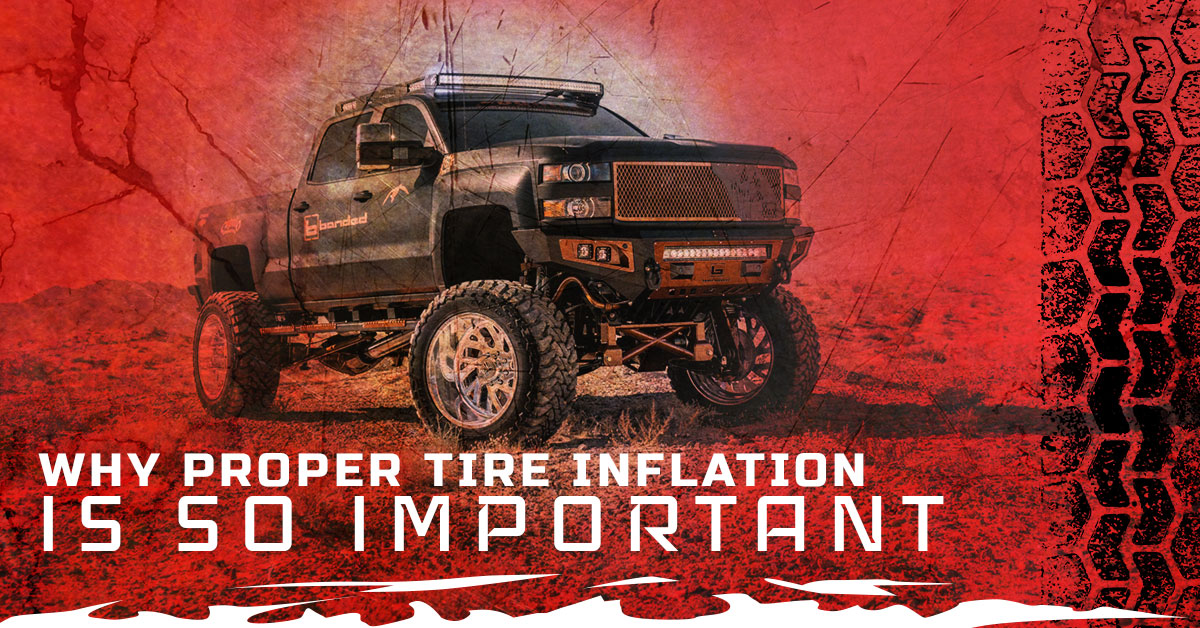 WHY PROPER TIRE INFLATION IS SO IMPORTANT