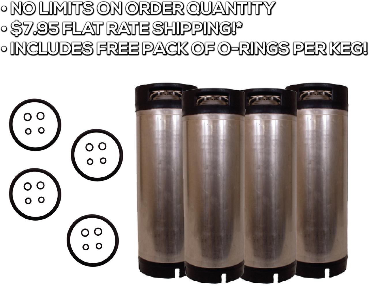 4 Pack Bundle Cornelius Kegs