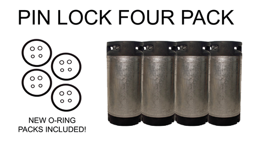 Pin Lock Four Pack