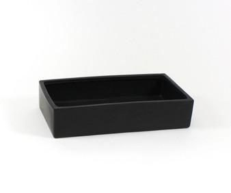 """CBR1693BK Black Long Low Rectangle - 16""""x9""""x3.3"""", Case Pack: 6 pcs"""
