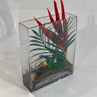 "VBV2810 - Block Vase. 2""x8""x10""H (8 pcs/case)"