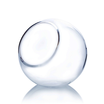 """VBW6108 Slant Bubble Bowl Vase. H: 8"""" (6 pcs)"""