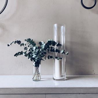 """VCY0308 Cylinder Glass Vase - 3"""" x 8"""" (12 pcs)"""