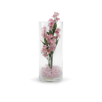 "VCY0410 - Cylinder Glass Vase - 4""x10"""