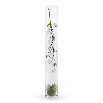 """VCY0428 - Cylinder Glass Vase - 4""""x28"""" (6 pcs/case)"""
