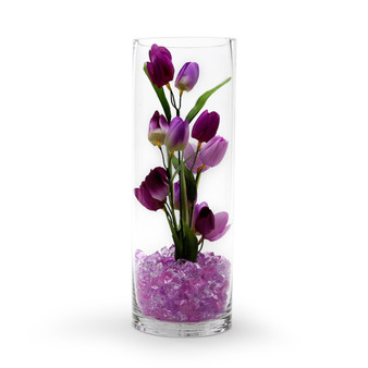 "VCY0514 Cylinder Glass Vase - 5""x14"" (12 pcs)"