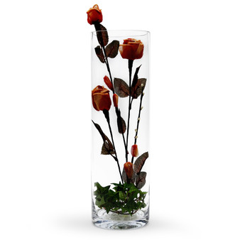 "VCY0516 Cylinder Glass Vase - 5""x16"" (6 pcs)"