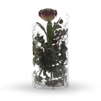"""VCY0712 Cylinder Glass Vase - 7""""x12"""" (4 pcs)"""