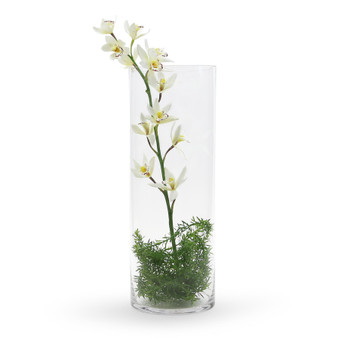 """VCY0720 Cylinder Glass Vase - 7""""x20"""" (4 pcs)"""