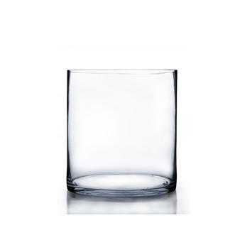 "VCY0810 Cylinder Glass Vase - 8""x10"" (6PCS)"