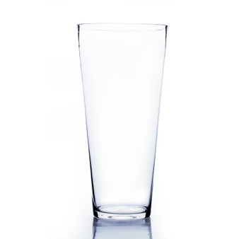 "VTC0512 Taper Down Cylinder Glass Vase - 5x12"" (12pcs)"