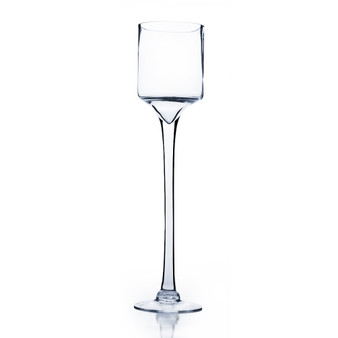 "VWV0420 Clear Wine Vase-5""x20""x 5"" (6 pcs)"