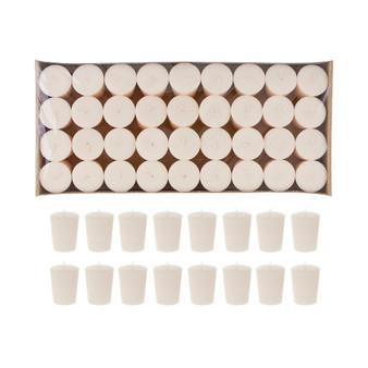 """CGA102I 1"""" x 2"""" Votive Candles - Ivory (72 pcs/pack)"""