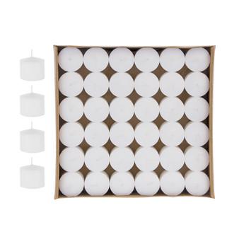 "CGA103-W - 1"" x 1"" Votive Candles - White (72 pcs/pack)"
