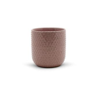 """CUC8505PK - Large Special Pink Ceramic Pot - 5.5"""" H (12 pcs/case)"""