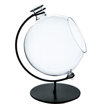 "HCH1407 Medium Globe Terrarium w/Stand - 5"" W x 7.3"" H (6 pcs)"
