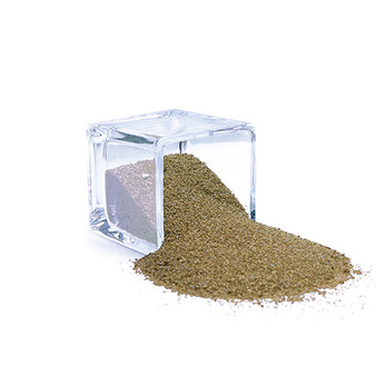 SAND02GD Decorative Colored Sand - Medium Grain, Dull Gold (14 oz Bag)