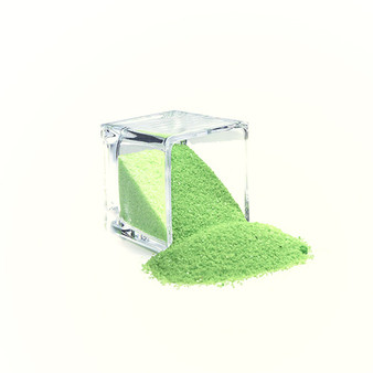 SAND02LG Decorative Colored Sand - Medium Grain, Light Green (14 oz Bag)
