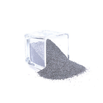 SAND02SV Decorative Colored Sand - Medium Grain, Silver (14 oz Bag)